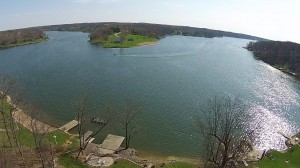 Aerial photo over a new listing in Oak Run